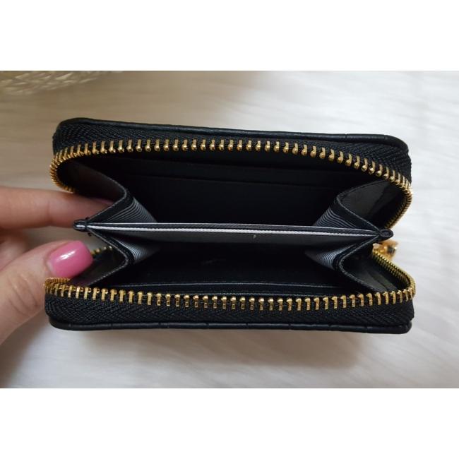 Kígyóbőr mintás 2 db-os pénztárca ajándékszett díszdobozban