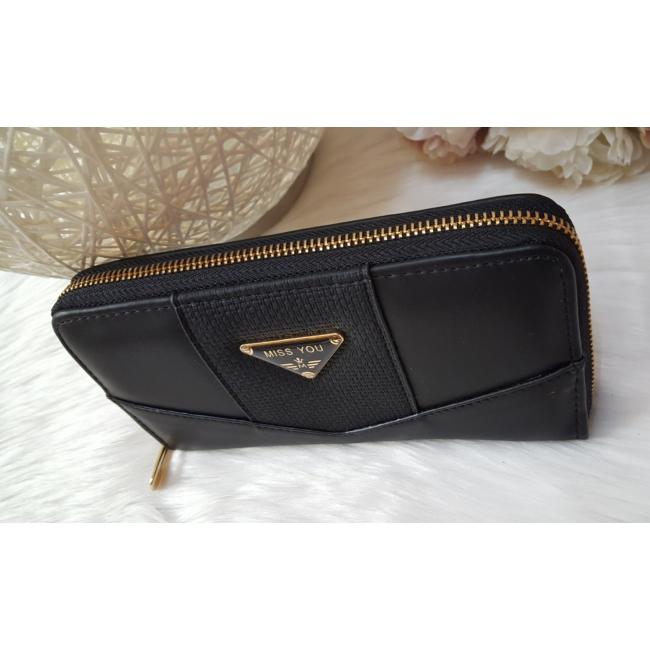 Black tassel táska pénztárca szett