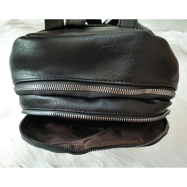 Black flower táska pénztárca szett