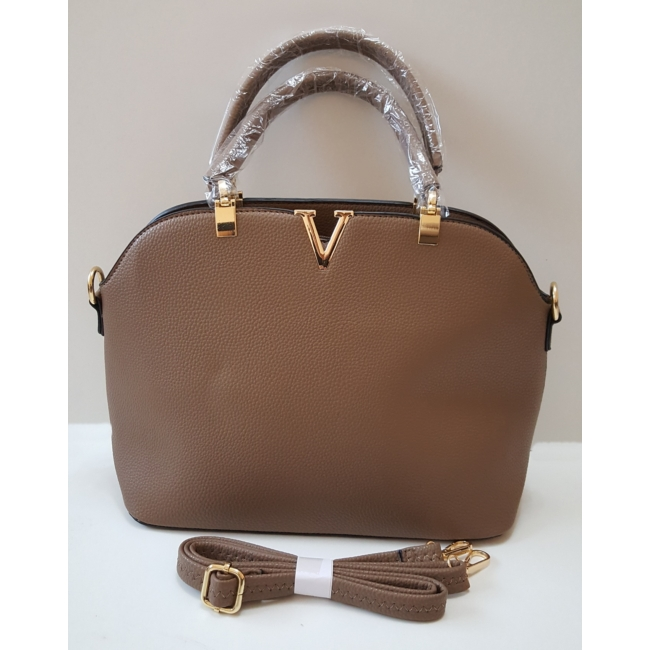 Brown elegant táska pénztárca szett
