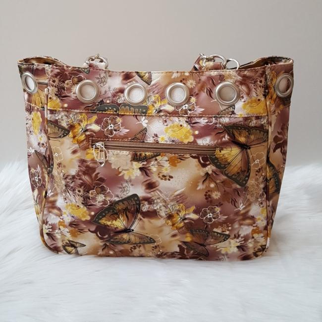 Pillangó mintás női táska