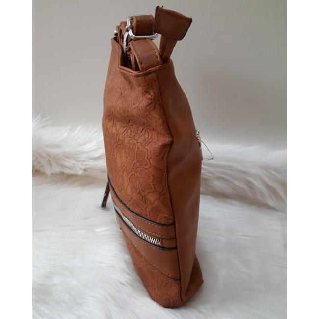 Brown lace táska pénztárca szett