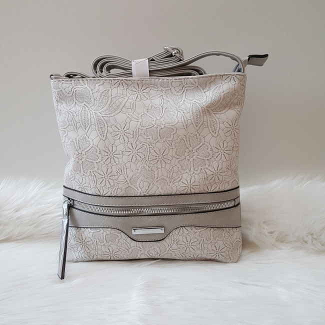 Grey lace táska pénztárca szett
