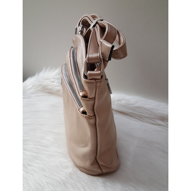 Rose gold táska pénztárca szett